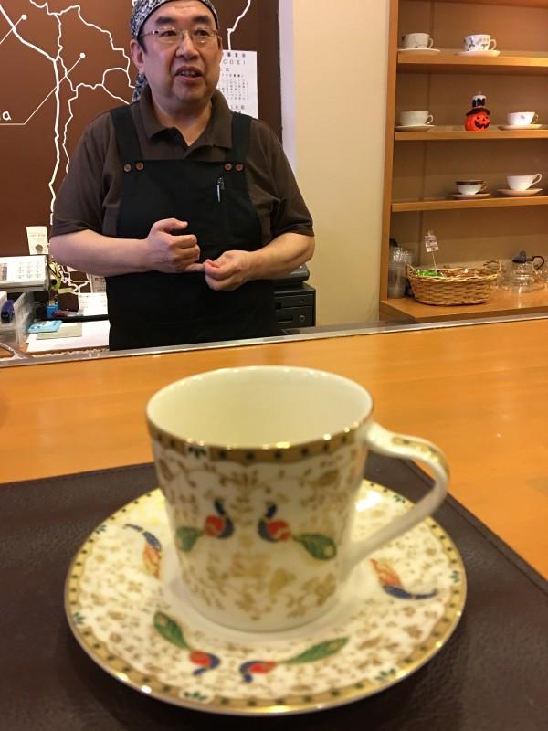 微笑亭 カフェ